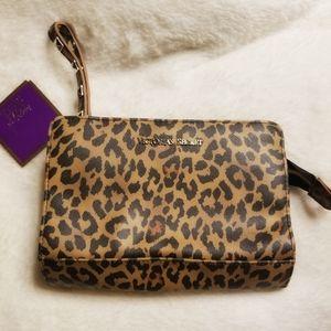 Victoria's Secret cosmetic wristlet bag